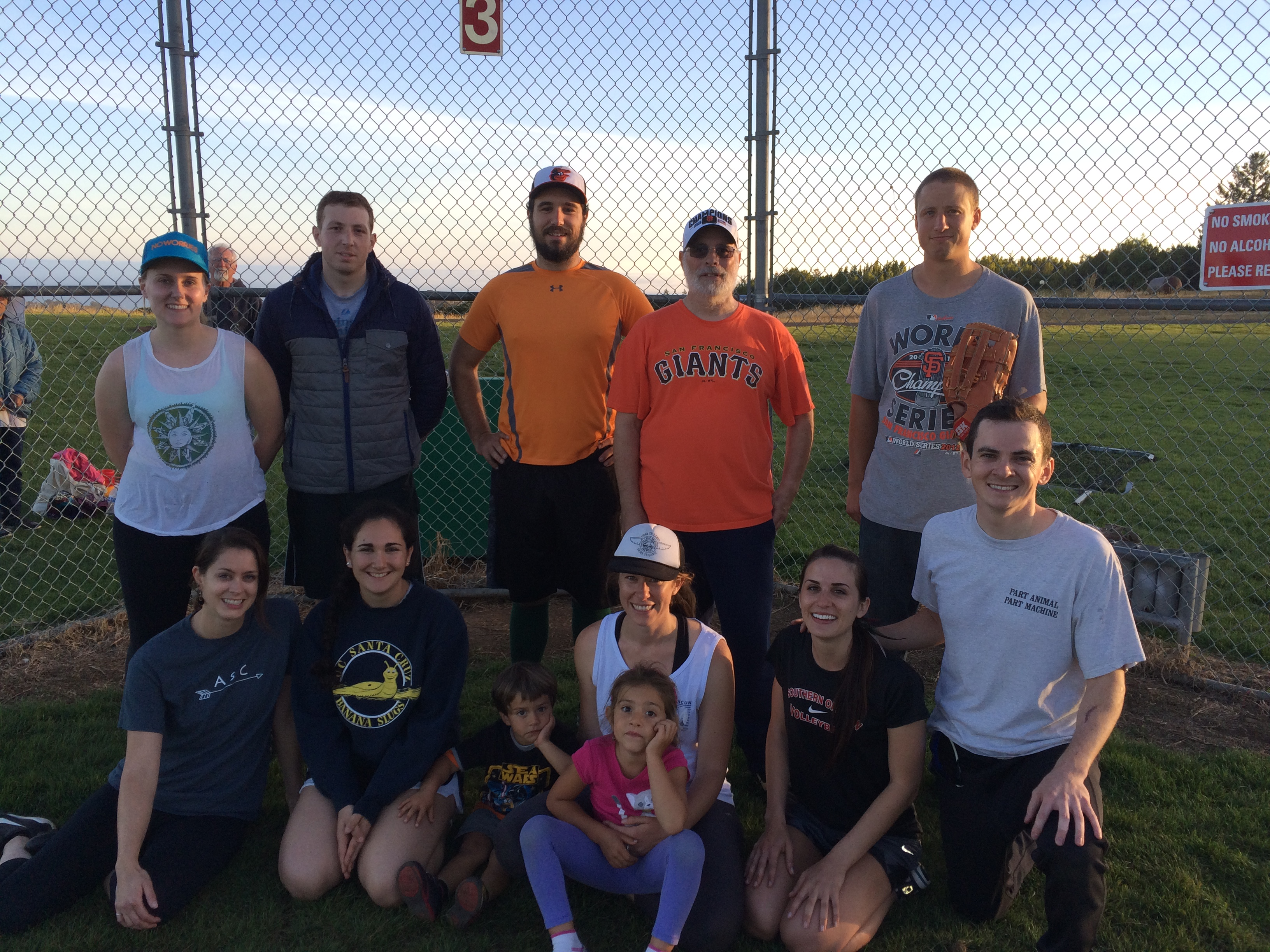 Spring 2015 Coed Softball Team