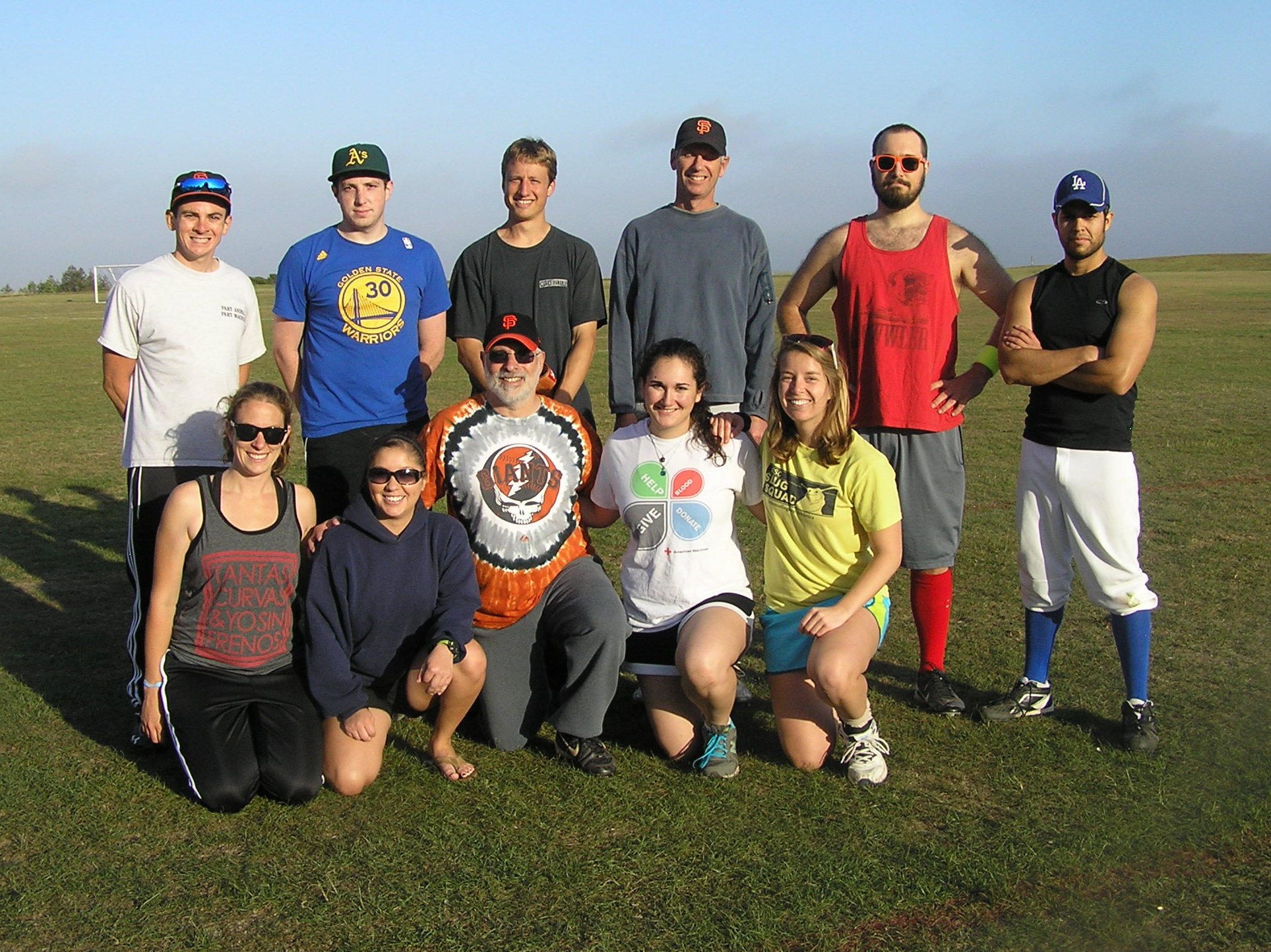 Spring 2014 Coed Softball Team