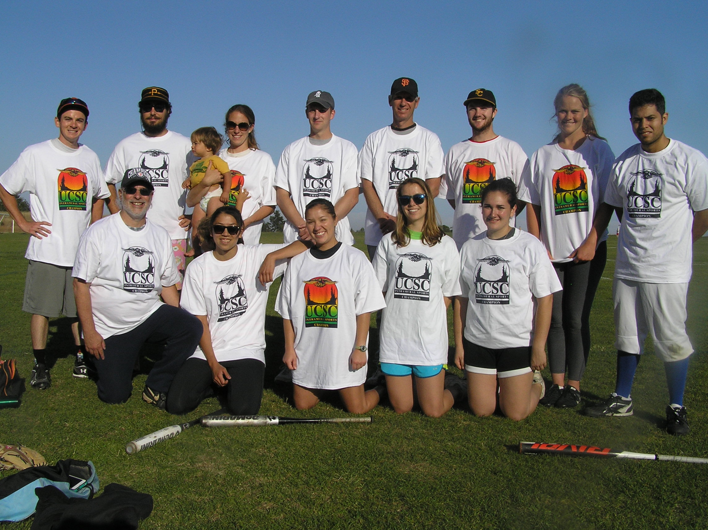Spring 2013 Coed Softball Team