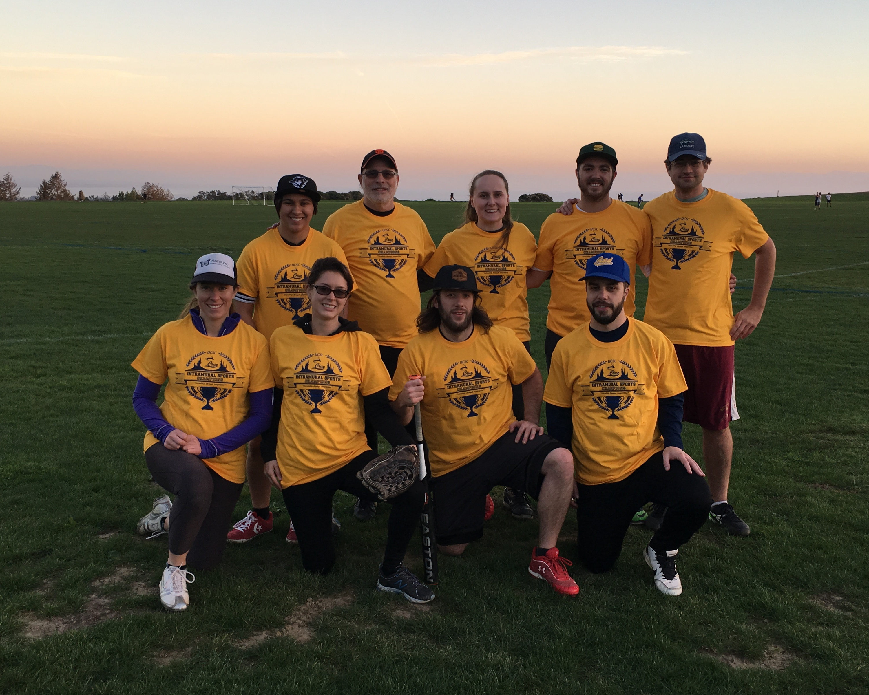 The Fall 2016 Coed Softball Championship Re-Entry Team
