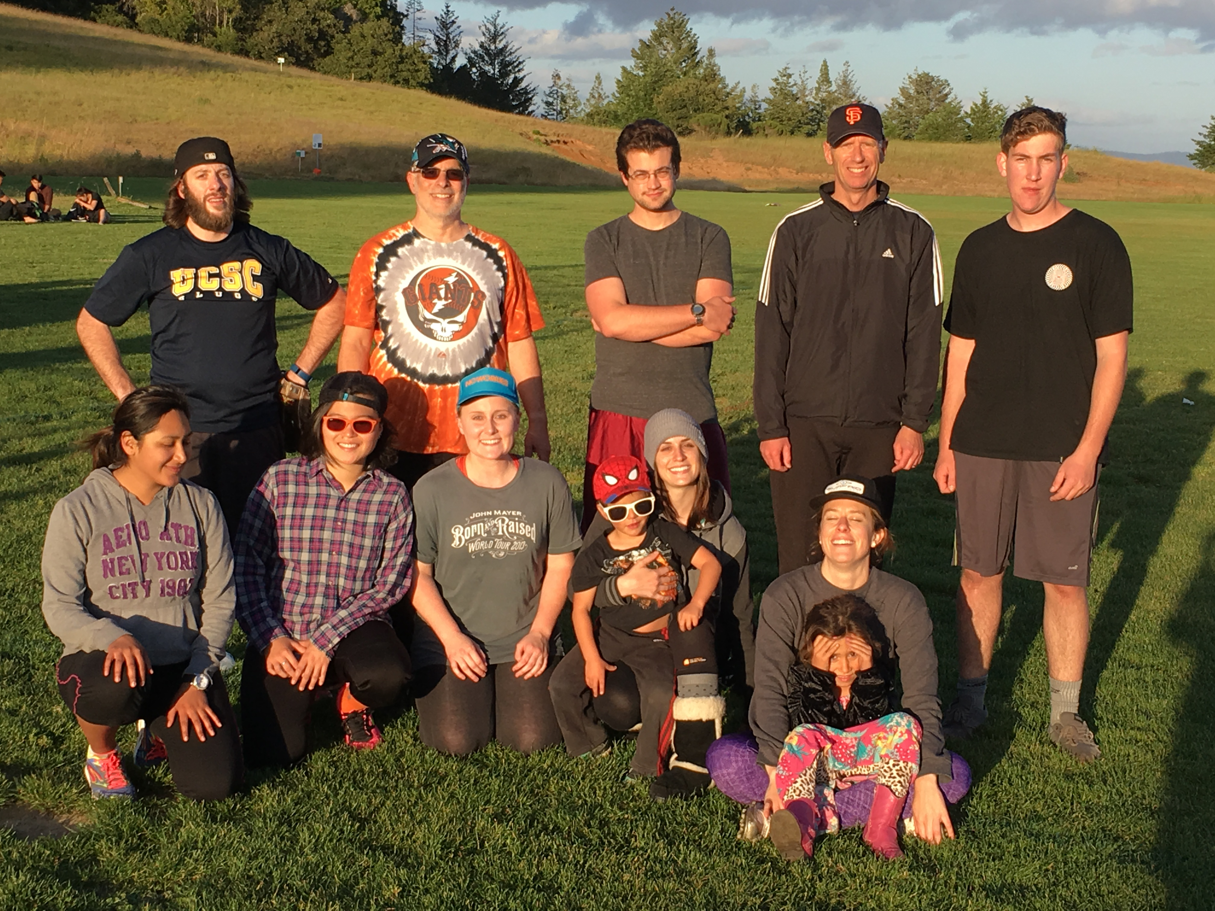 Spring 2016 Coed Softball Team