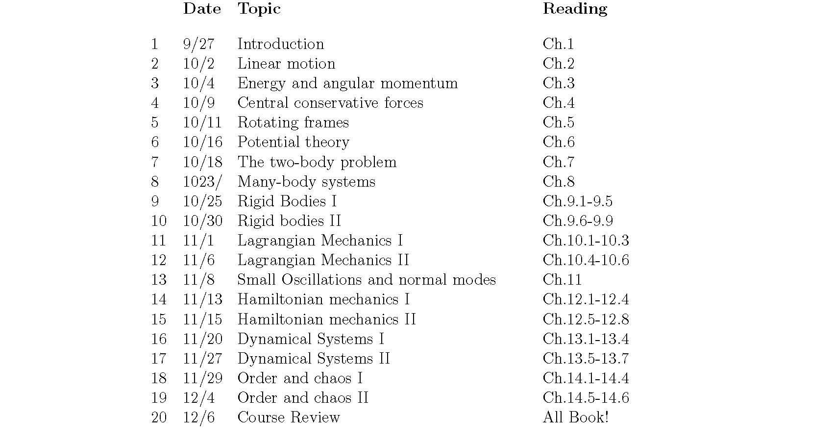UCSC Physics 105